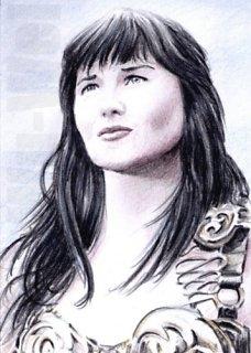 Lucy Lawless par wu-wei